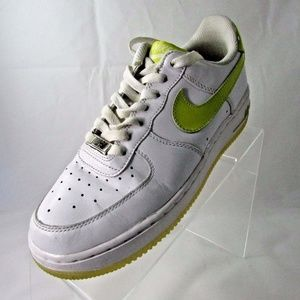 AIR FORCE Size 7.5 WHITE SNEAKERS SHOES For Women
